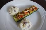 Meatless Monday…Zucchini Ripieni (StuffedZucchini)